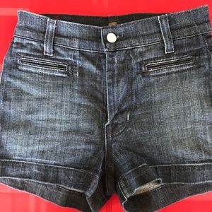 Seven For All Mankind Denim Shorts Size 24